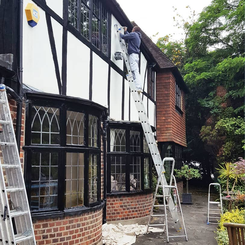 quality exterior painting in South West London